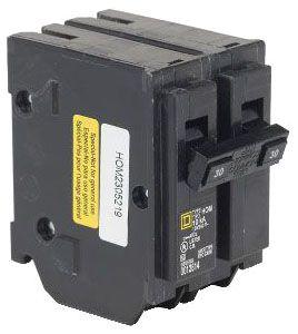 SQUARE D HOM230 : MINIATURE CIRCUIT BREAKER 120/240V 30A