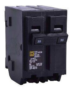 SQUARE D HOM250 : MINIATURE CIRCUIT BREAKER 120/240V 50A