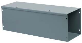 SQUARE D LDB82 8X8X2FT GRAY WIREWAY **CLOSING PLATES NOT INCLUDED - ORDER SEPARATELY