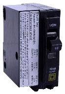 QO120 MINIATURE CIRCUIT BREAKER MINIATURE CIRCUIT BREAKER 120//240V 20A
