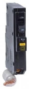 SQUARE D QO120GFI : MINIATURE CIRCUIT BREAKER 120V 20A