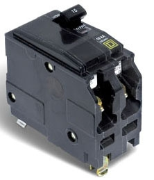 SQUARE D QO215 : MINIATURE CIRCUIT BREAKER 120/240V 15A