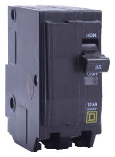 SQUARE D QO240 : MINIATURE CIRCUIT BREAKER 120/240V 40A