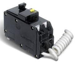 SQUARE D QO240GFI : MINIATURE CIRCUIT BREAKER 120/240V 40A