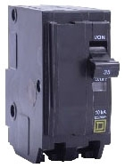SQUARE D QO260 : MINIATURE CIRCUIT BREAKER 120/240V 60A