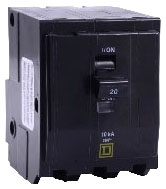 SQUARE D QO325 : MINIATURE CIRCUIT BREAKER 240V 25A