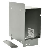 SQUARE D RWT06HE : WALL DUCT, HORIZONTAL ELBOW W/COVER