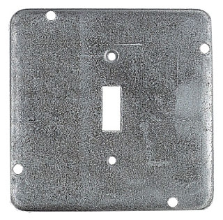 STEELCTY RSL-9 4-11/16-IN SQUARE SURFACE COVER, TOGGLE