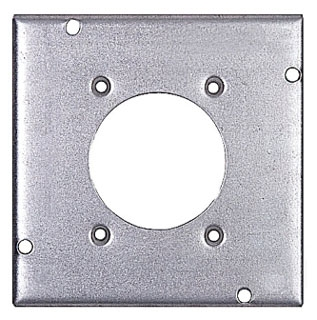 STEEL-CITY RSL-13 4-11/16-IN SQUARE SURFACE COVER, 2-5/32IN DIA