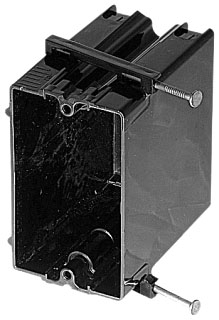 BOWERS 122-N 1G PLASTIC SWITCH BOX Product Image
