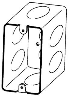 BOWERS 106-3/4 4-1/8X2-3/16D BOX Product Image