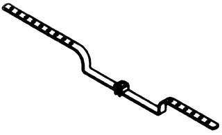BOWERS 2-BC DEEP OFFSET BAR HANGER Product Image