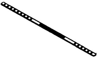BOWERS 14-BL 24-IN STR BAR HANGER Product Image