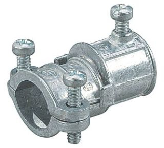 Thomas /& Betts TX210-1 1//2-Inch to 3//8-Inch Combination Coupling for Electrical Metallic Tubing to Flexible Steel Conduit