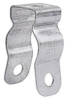 STEEL-CITY 6H3B CONDUIT PIPE HANGER 1-1/2IN STEEL W/ BOLT