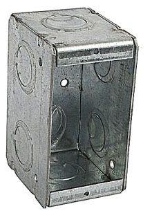 BOWERS 1-MBS 1G 2-1/2D MASONRY BOX Product Image