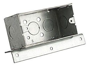 BOWERS 104-W-AB 4X2-1/8D BOX W/BRKT Product Image
