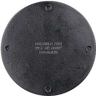 UNION AO-51 BLANK COVER W/GASKET