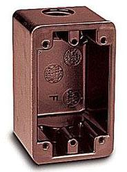UNION FSC-34 1G DEVICE BOX 3/4 KO