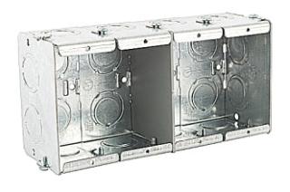 STEELCTY GW425-G STEEL GANGABLE MASONRY BOX 64.0 CU-IN