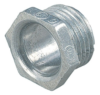 "STEELCTY HA205 1-1/2"" CHASE NIPPLE, RIGID/IMC, DIE-CAST"