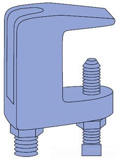 UNISTRUT P2899-75-EG 3/4IN BEAM CLAMP