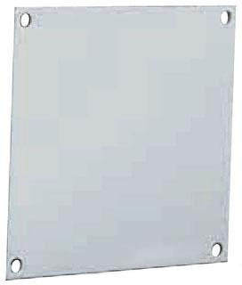 WIEGMANN P1008AL BACK PANEL (JIC B SERIES) 8.8X6.8 ALUM