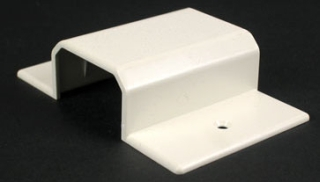 WIREMOLD NM2051H NON-METALLIC HORIZONTAL WALL BOX ADAPTER NM2000 IVORY