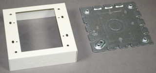 WIREMOLD V5747-2 IVORY 2G BOX