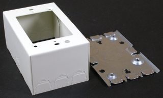 WIREMOLD V5747 IVORY SHALLOW SWITCH/RECEPTACLE