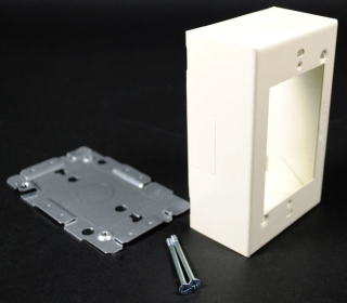 WIREMOLD V2048 SW/RCPT BOX W/EXT