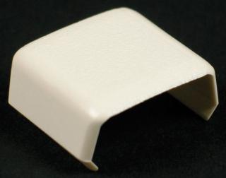 WIREMOLD 406 : NON-METALLIC COVER CLIP 400 IVORY